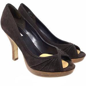 Steve Madden Women's Shoes Sz Us 9.5M Brown Pumps